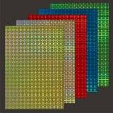 10x Hologramm-Karton Fish Eye von LeSuh (418872)