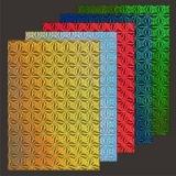 10x Hologramm-Karton Windflower von LeSuh (418876)