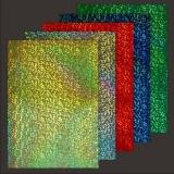 10x Hologramm-Karton Glass von LeSuh (418816)