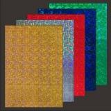10x Hologramm-Karton Weave von LeSuh (418804)