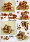 3D-Bogen Hündchen von LeSuh (4169251)
