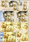 3D-Bogen Katze von LeSuh (4169132)