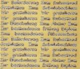 Sticker - Glückwünsche zu verschiedenen Anlässen - gold - 446