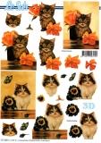 3D-Bogen Kätzchen von LeSuh (777.282)