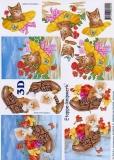 3D-Bogen Katze im Schuh von LeSuh (4169424)