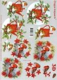3D-Bogen Wintervögel von LeSuh (4169349)
