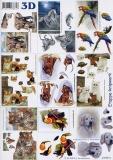 3D-Bogen Tiere klein von LeSuh (4169374)