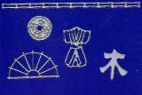 Sticker - Japanische Motive - silber - 1087