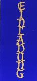 Sticker - Einladung 4 - gold - 438
