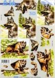 3D-Bogen Schäferhund von Nouvelle (8215202)