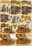 3D-Bogen Hund & Katze von Nouvelle (8215265)