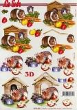 3D-Bogen Meerschweinchen von Nouvelle (8215246)