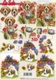 3D-Bogen Hund im Garten von Nouvelle (8215277)