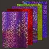 10x Hologramm-Karton Glass 2von LeSuh (418836)