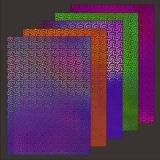 10x Hologramm-Karton Spiral 2von LeSuh (418834)