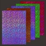 10x Hologramm-Karton Sparkle 2von LeSuh (418837)