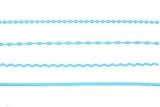 Sticker - Ränder / Linien - hellblau - 1016