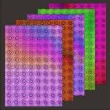 10x Hologramm-Karton Sun Flower 2von LeSuh (418831)