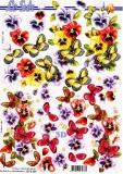 3D-Bogen Schmetterlinge von Nouvelle (8215304)