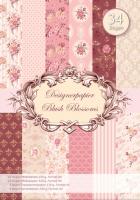 Designer-Paper Blush Blossoms (84802)