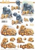 3D-Bogen Hunde von Nouvelle (8215796)