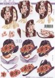 3D-Bogen Blumenhut von Nouvelle (8215466)