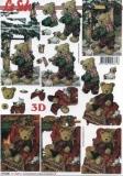 3D-Bogen Bär im Winter von LeSuh (777.206)