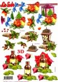 3D-Bogen Laternen von LeSuh (777.323)