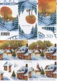 3D-Bogen Dorf im Winter von LeSuh (777.195)