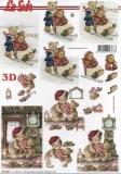3D-Bogen Bären mit Schlitten von LeSuh (777.207)