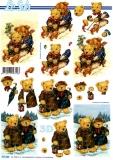 3D-Bogen Bären im Winter von LeSuh (777.203)