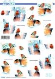 3D-Bogen Vogel im Winter von LeSuh (777.351)