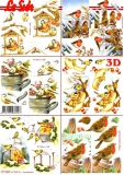 3D-Bogen Vögel im Winter von LeSuh (777.369)