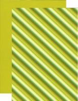 10x Bastelkarton A4 Karo-LineMoos (KBS006)