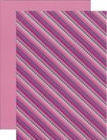 10x Bastelkarton A4 Karo-LineViolett (KBS014)
