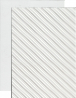 10x Bastelkarton A4 Karo-LineWinter (KBS012)