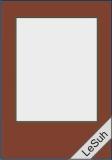 Passepartoutkarten-Set A6 nougat-rechteckig von LeSuh (411333)