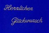 Sticker - Herzlichen Glückwunsch - gold - 4402