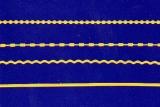 Sticker - Ränder 12 - hellgelb - 1016