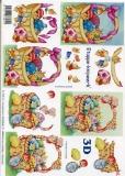 3D-Bogen Osterkörbe von LeSuh (4169246)