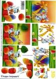 3D-Bogen Osterhase & Ei von LeSuh (4169150)