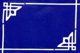 Sticker - Rand & Ecken 1 - weiß - 842