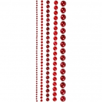 Plastik-Halbperlen 2 mm-weiß von Rayher (1510602)