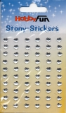 Stony-Stickers Herzen kristall von Hobby Fun (3451776)