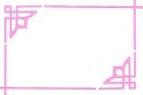 Sticker - Rand & Ecken 1 - rosa - 842