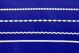 Sticker - Ränder 12 - weiß - 1016