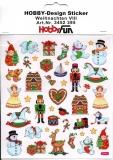 Hobby-Design Sticker-Weihnachten VIII von HobbyFun (3452395)