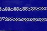 Sticker - Ränder 7 - silber - 848