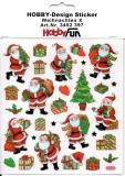 Hobby-Design Sticker-Weihnachten X von HobbyFun (3452397)