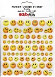 Hobby-Design Sticker-Smily von HobbyFun (3452347)
